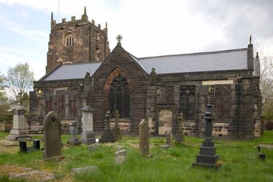 Radcliffe Parish Church, Church Green, Radcliffe