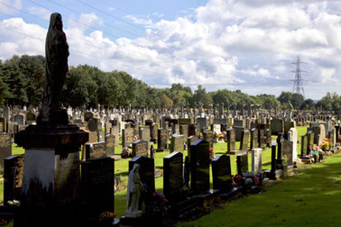 St Mary's Roman Catholic Cemetery, Worsley, Salford