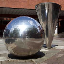 Sculptures, University of Manchester