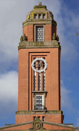Trafford Town Hall, Talbot Road, Old Trafford