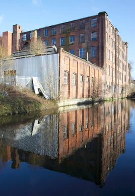 Minerva Mill, Huddersfield Narrow Canal, Ashton-under-Lyne