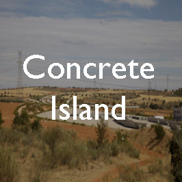 Concrete island: the abandoned MP-203 highway, Spain