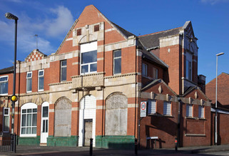 Oldham Equitable Co-operative Society building, Roundthorn Road, Oldham
