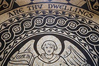 Tiles, St Philip's Church, Bank Street, Salford