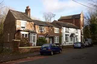 18th-century houses, Far Lane, Gorton