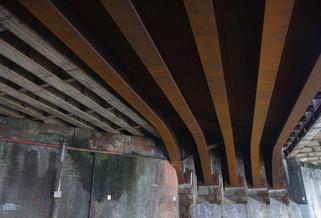 Railway viaduct, Chapel Street, Salford