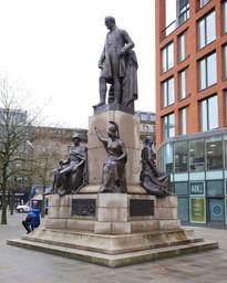 Duke of Wellington, Piccadilly Gardens