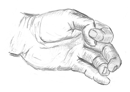 Hand Sketch with fine lines