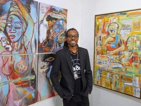 A la rencontre de Ruddy Marc ROQUELAURE, l'artiste dont le pinceau transcende les visions