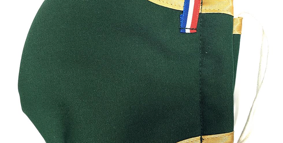 Masque de Noël Elite Vert Sapin - Nouveau modèle