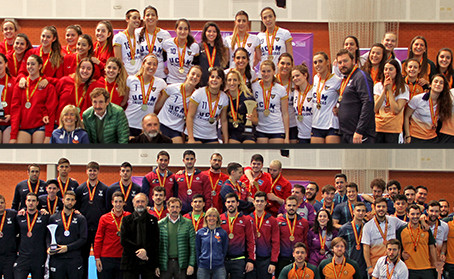 Valladolid acaba con la hegemonía masculina de la UCAM, que gana el título femenino con autoridad.