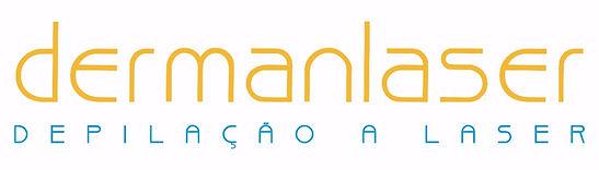Logo da Dermanlaser depilação a laser clínica estética no Rio de Janeiro e em Niterói