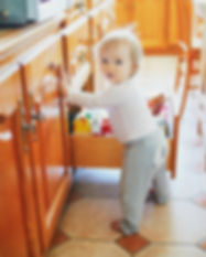 Canva - Adorable Toddler Girl at Home, O