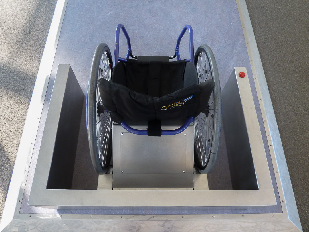 Racing Wheelchair by CW Shaw Inc