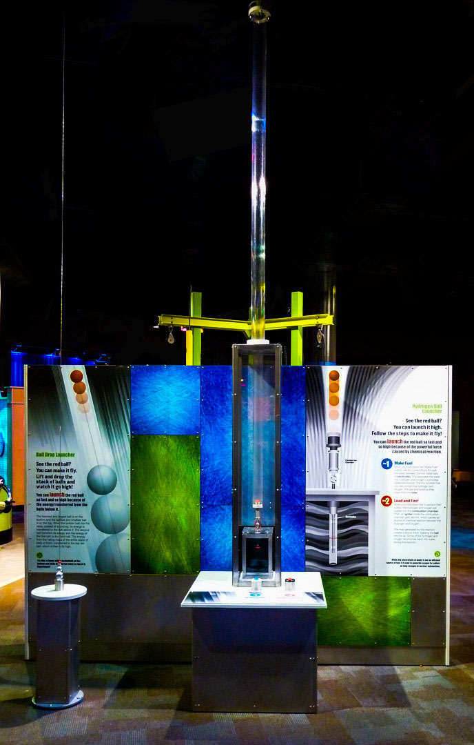 Hydrogen Ball Launcher | CW Shaw