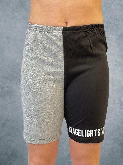 Stagelights Half & Half Biker Short