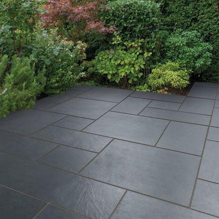 Stunning patio in modern garden
