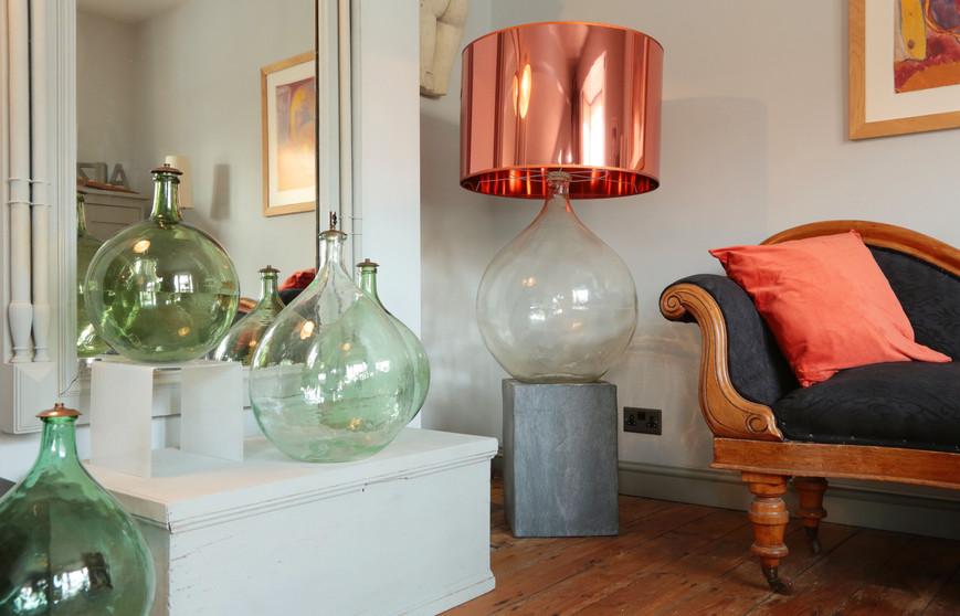 copper eau de vie Lamp