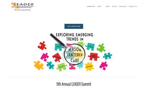 LEADER Homepage
