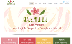 real simple website