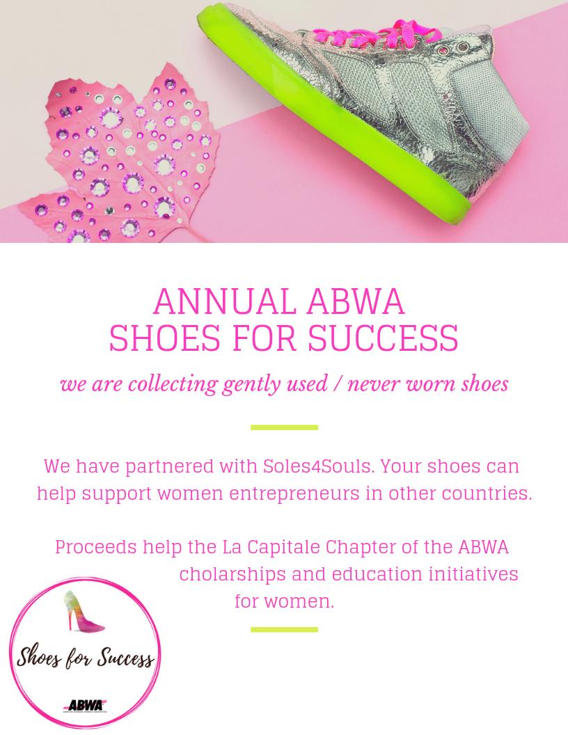 Annual ABWA Shoe Drive