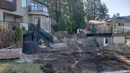 Residential project in North Vancouver