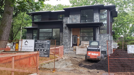 Residential project in Vancouver West