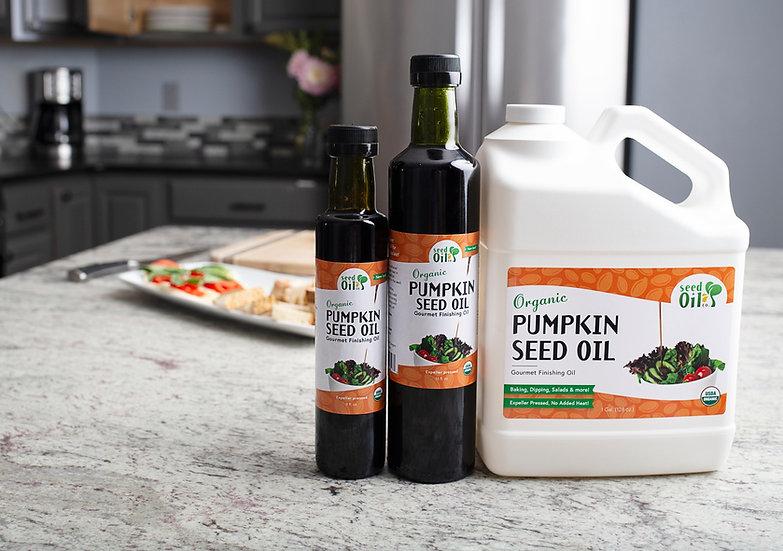 Organic Cold-Pressed Pumpkin Seed Oil