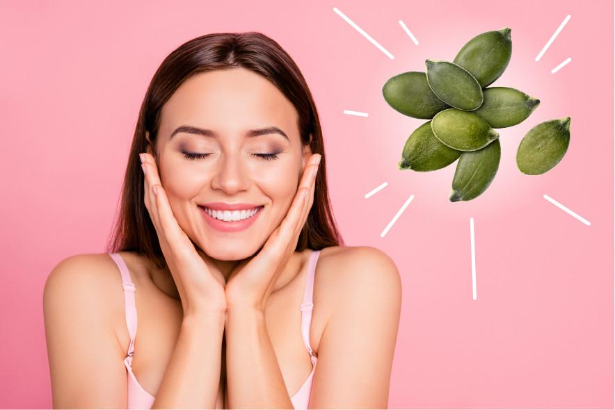 pumpkin seed oil for skin, pumpkin oil for skin, pumpkin seed oil for face, pumpkin seed oil acne
