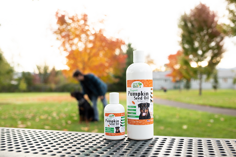Organic Pumpkin Seed Oil for Pets
