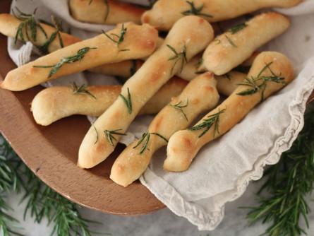 Bread Sticks with Pumpkin Seed Powder!