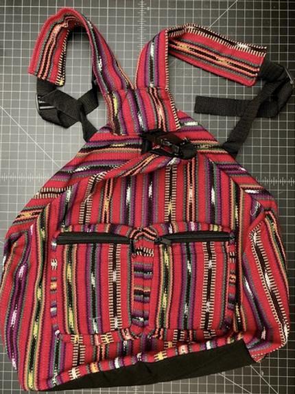 Mayan 2 Pocket Backpack
