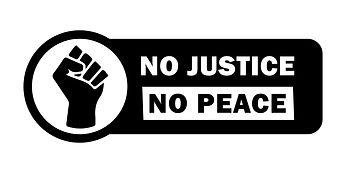 No Justice No Peace Fist Tag.jpg