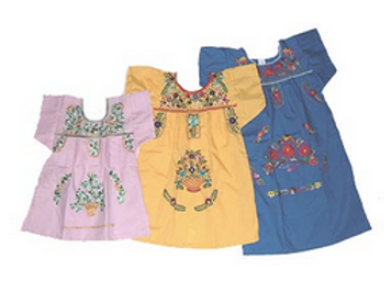 Embroidered Mexican Dress (Child)