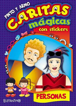 Colección Caritas Mágicas (2 unidades)