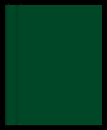 Cuaderno Tapa Dura Rayado Verde Liso