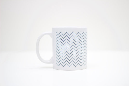 Chevron Ceramic Mug