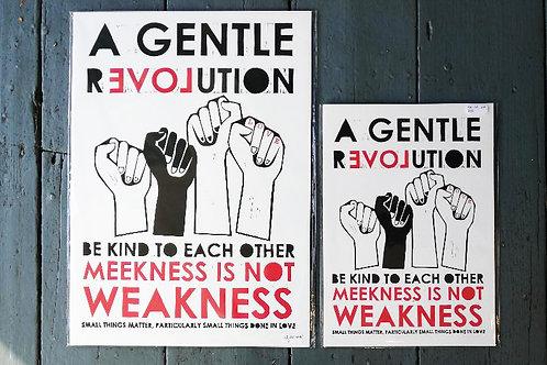 Gentle Revolution Print