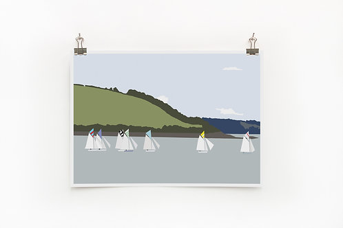 Weekend Explorer - Boat  |  Digital Print