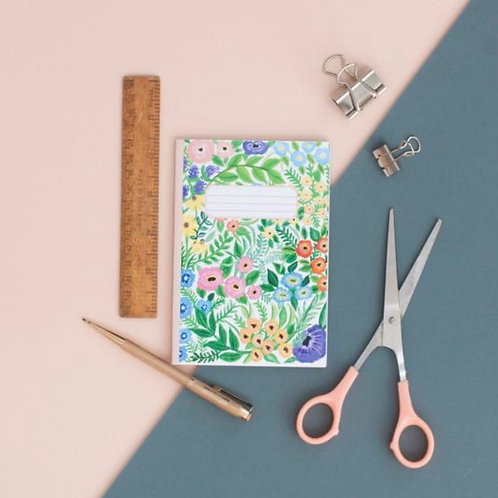 Wildflowers Print A6 Pocket Notebook
