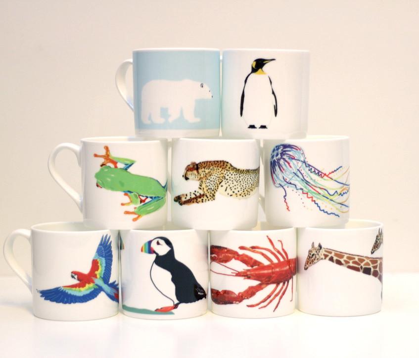 Ceramic Vegan Mugs