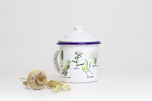 Wild Foods Enamel Mug
