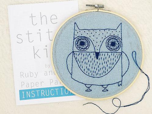 Stitch Kit - Owl