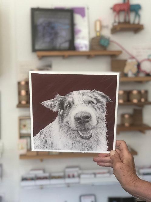Friendly Gus Print