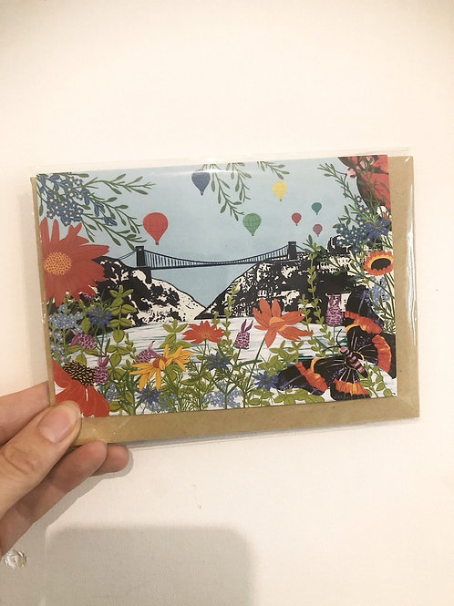 Bristol Balloon Card
