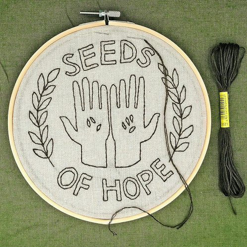Stitch Kit - Seeds of hope