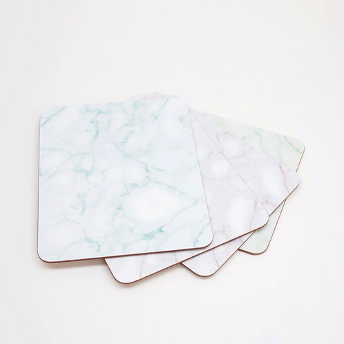 Set of Marble design Coasters