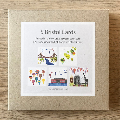 Pack of Bristol Cards