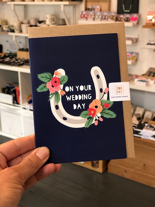 On your wedding day Card