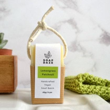 Lemongrass & Patchouli Soap on a Rope